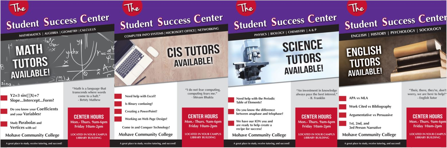 Success center flyer